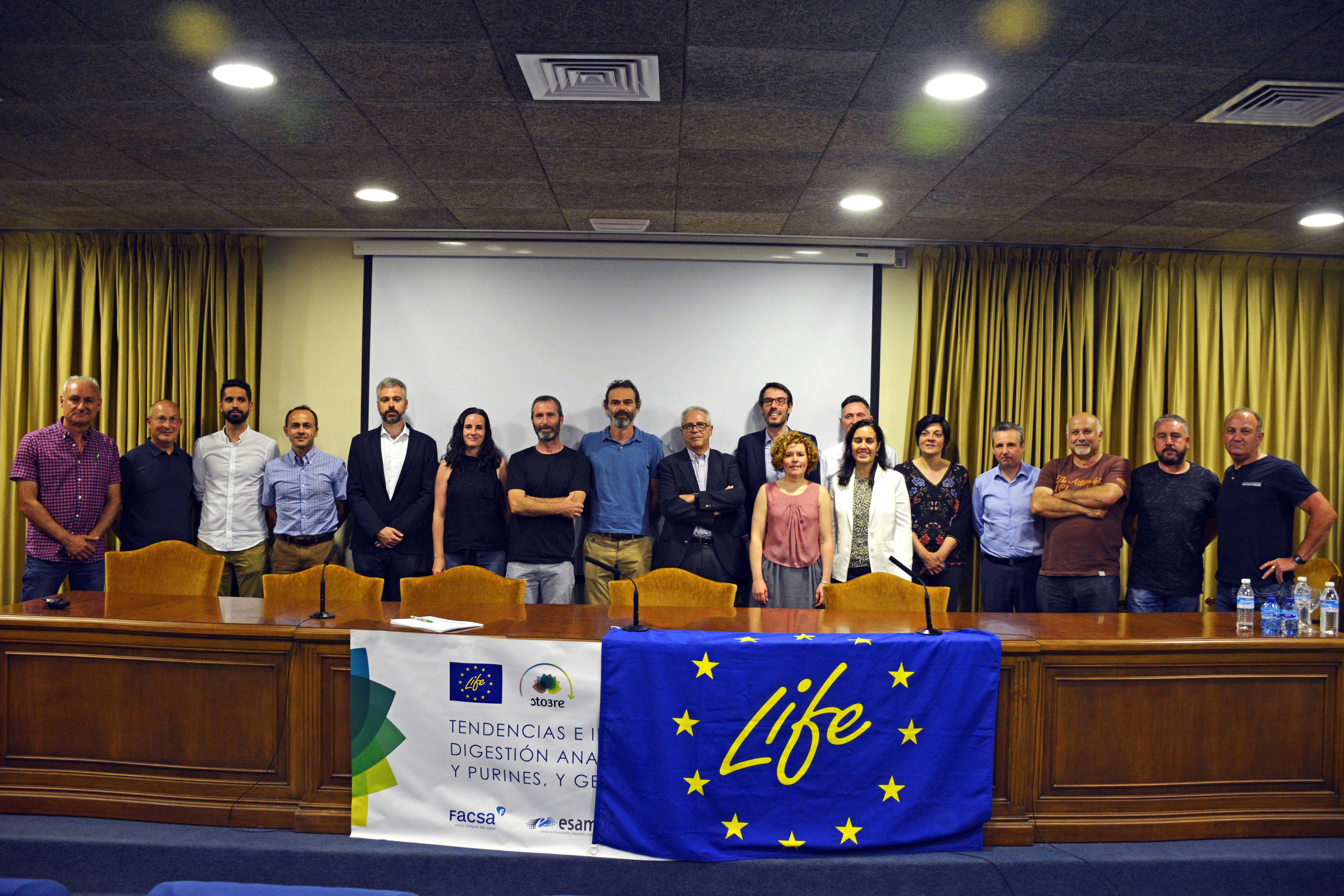The technology of the European project LIFE STO3RE will increase the production of biogas by more than 30%